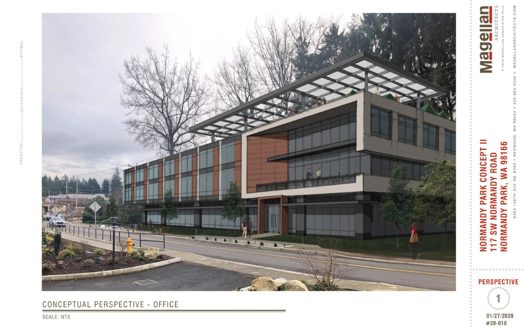 Normandy Park Office Conceptual Rendering