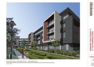 2020-01-27_Normandy Park Concept II_Conceptual Sketch_Residential-20-010